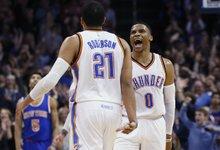 """NBA: """"Thunder"""" – """"Knicks"""""""