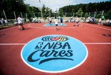 Modernios krepšinio aikštelės...