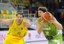 Pasaulio taurė: Slovėnija –...