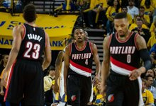 "NBA: ""Trail Blazers"" – ""Warriors"""