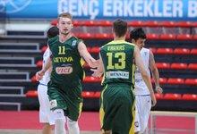 Europos U18 čempionatas: Lietuva -...