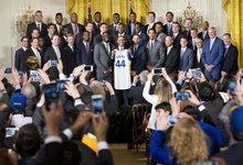 NBA čempionų pagerbimas