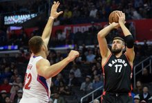 "NBA: ""Clippers"" – ""Raptors"""