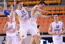 Europos U20 čempionatas: Lietuva –...