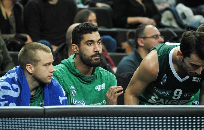 A.Lima visas rungtynes praleido ant suolo (Žygimantas Gedvila, Fotodiena.lt)