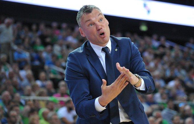 Š.Jasikevičius pasigedo susidomėjimo pusfinalio maču (Rokas Lukoševičius, Fotodiena.lt)
