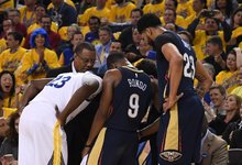 "NBA: ""Warriors"" – ""Pelicans"""