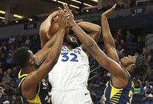 "NBA: ""Timberwolves"" – ""Pacers"""