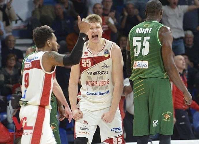 E.Mockevičius pelnė 13 taškų