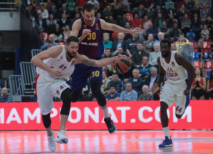 CSKA Eurolygos sezoną pradėjo lengva pergale (Scanpix nuotr.)
