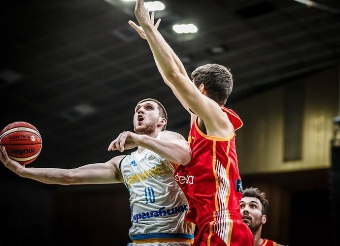 S.Michailiukas tapo tikru ispanų siaubu (FIBA nuotr.)